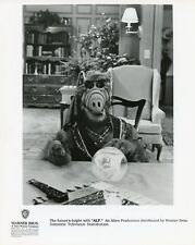 ALF THE ALIEN AS MEDIUM CRYSTAL BALL PORTRAIT ALF ORIGINAL 1990 NBC TV PHOTO
