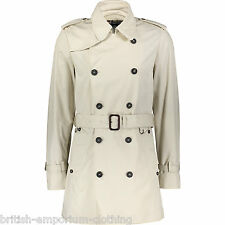 Aquascutum Blanc Cassé DB Showerproof trench coat UK44 IT54 Brand new with tags