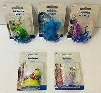 Disney Pixar Monsters Figure Set Sulley Mike Randall Boo Roz