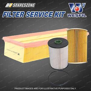 Oil Air Fuel Filter Kit for Volkswagen Golf VI Jetta 1K Diesel 4Cyl