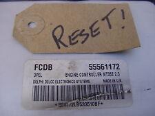 RESET Vauxhall Astra 1.6 Z16XEP ECU, FCDB 55561172 Opel MT35E 2.3 Ecm Computer