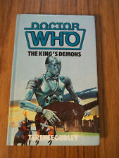 5th Dr Doctor Who The King's Demons Master Tegan WH Allen HC Not ExLibrary Rare