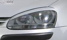 "RDX Scheinwerferblenden VW Golf 5 V Böser Blick ""X-Trem"" Blenden Spoiler Tuning"