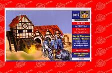 1/72 BUM Models FRENCH ROYAL MUSKETEERS WITH CHATEAU Figure Set *MINT*