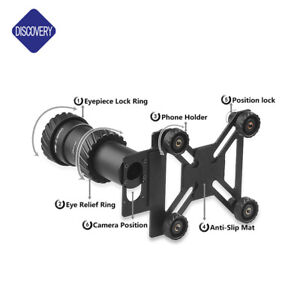DISCOVERY RIFLE SCOPE UNIVERSAL FIT Phone Adapter Camera Scope Mount.