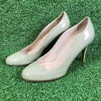 Artigiano Italy Classic Nude Patent High Heel Court Shoes Womens Size UK 6 EU 39