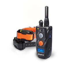 282C Dogtra 2 Dog Remote Training Collar 1/2 Mile Rechargeable Small Collar