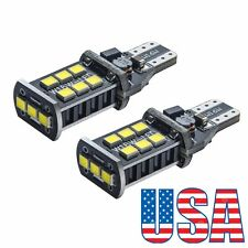US 2*T10 T15 W16W Backup Reverse LED Light Bulbs for 2007-2014 Toyota FJ Cruiser