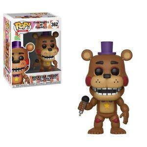 Funko - POP Games: Five Nights At Freddy's 6 Pizza Sim-Rockstar Freddy New