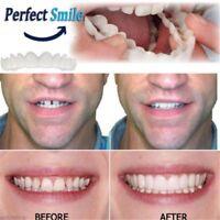 Snap On Instant Smile Perfect Smile Comfort Fit Flex Teeth Fits Veneers #a