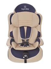 Seguro Bebe Lima Group 1,2,3, 2nd Stage Baby Car Seat - Beige on Navy