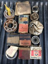 Lot Of 14 Vintage Ball Bearings And Other (?) Items Pictured! Check Photos