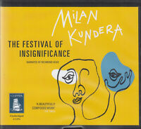 Milan Kundera The Festival Of Insignificance 2CD Audio Book Unabridged FASTPOST