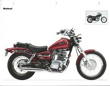 Motorcycle Data Sheet - Honda - Rebel - 2004 Specifications Features (DC632)