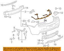 Chevrolet GM OEM 10-11 Camaro Rear Bumper-Harness 92245520