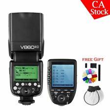 US Godox V860II-C 2.4G i-TTL HSS Camera Flash Speedlite Xpro-c Trigger For Canon