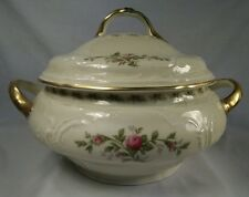 Rare Vintage Rosenthal Tureen Heirlooms Sanssouci Rose Gold Pattern Selb-Germany