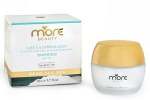 More Beauty Dead Sea Light Facial Moisturizer Chamomile Combination to Oily Skin