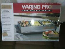 WARING PRO Warming Tray Food Warmer Triple Buffet Server