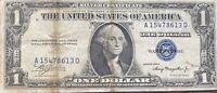 USA 1 Dollar 1935 A Silver Certificate One Banknote Schein Gute Erhaltung #21941
