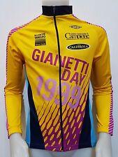 MAGLIA SHIRT CICLISMO GIANNETTI DAY 1999 VINI CALDIROLA TG.L CYCLING GIRO A199