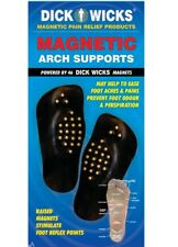 Dick Wicks Magnetic Arch Supports Foot Reflex Pain Relief (Pair)