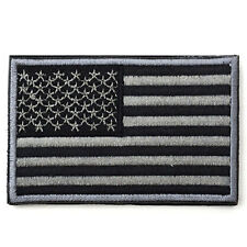 USA AMERICAN FLAG TACTICAL US ARMY MORALE MILITARY BLACK OPS SWAT PATCH