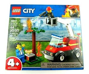 LEGO 60212 City Barbecue Burn Out (Brand New & Sealed)