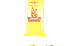 Burt's Bees For Cats Natural Dander Reducing Wipes | Kitten and Cat Wipes For.