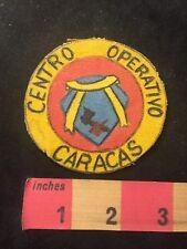 Vtg Central Operativo Caracas Latin America Patch (? Venezuela) 88Nu