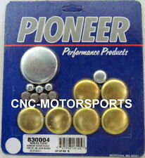 Pioneer Brass Freeze Frost Expansion Plug Kit SBF SB Ford 302 351W