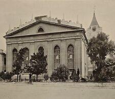 1899 PRINT COLONIAL SOUTH AFRICA DUTCH REFORMED CHURCH ADDERLEY STREET CAPE TOWN
