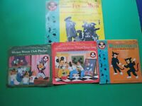 Vintage Children's Records, Mickey Mouse Club, Lot of 3