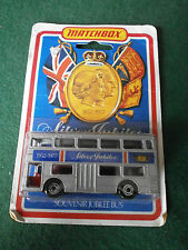 Matchbox MB 17 The Londoner Bus with Queens Silver Jubilee Decals