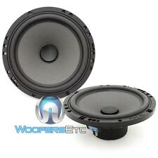 """FOCAL CAR AUDIO POLYGLASS 6.5"""" MID WOOFERS FROM ISN165 COMPONENT SPEAKERS PAIR"""