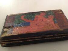 Antique Tantric / Kama Sutra Hand Painted Gouache Illustrations with Sanscript