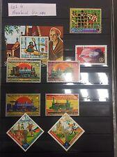 Äquatorialguinea Briefmarken Lot Mit Block