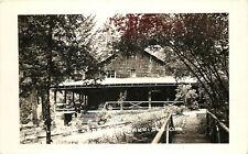RPPC Postcard Kitson Hot Springs Oakridge OR Lane County,