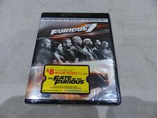 FURIOUS 7 4K ULTRA HD+BLU-RAY+DIGITAL HD NEW