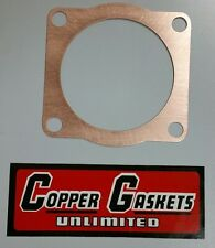 """MZ ETZ 301COPPER HEAD GASKET 76.5mm X .032"""" .81MM THICK and 77.5mm"""