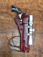"""Holster For Ruger Blackhawk Hunter & Bisley Hunter models w/ 7.5"""" barrel #48513"""
