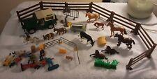 Vintage Farm Animals + Accessories , all 11x Animals are Britain's