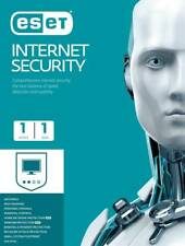 ESET Internet  Security 1 Device 1 Year Anti-virus Anti-Theft Internet Firewall
