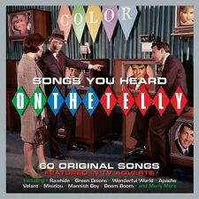 Songs You Heard On The Telly - 60 Original Songs Featured In TV Adverts 3CD NEW