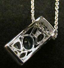 Anhänger Silber 925 Sterlingsilber Amethist BlauTopas Granat Citrin Bergkristal