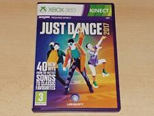 Just Dance 2017 Xbox 360 (Kinect Required) UK PAL **FREE UK POSTAGE**