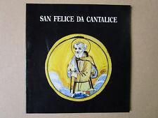 San Felice da Cantalice. - 1987