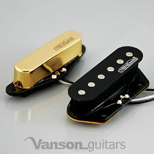 NEW Wilkinson 60's Vintage Voice Pickups for Tele ®* guitars, Gold MWVTN N&B
