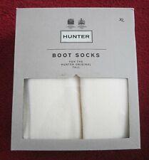 A estrenar en caja Hunter Tall Boot Sock polyfleece Calcetines Unisex Reino Unido Talla 9-11