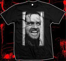 Jack Nicholson - The Shining - Kubrick - Silk Screened, Pre-shrunk 100% Cotton